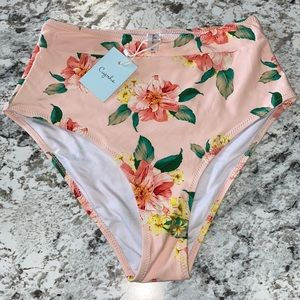 Cupshe floral bottoms, NWT